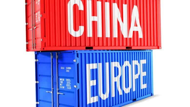 import aus china nach deutschland